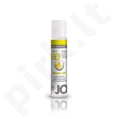 System JO - H2O lubrikantas Banano lyžtelėjimas 30 ml