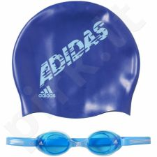 Plaukimo rinkinys Adidas swim kids package Junior AB6071