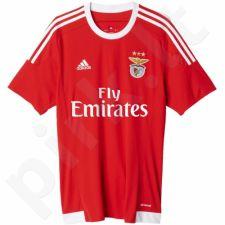 Marškinėliai futbolui Adidas S.L. Benfica Home Replica Player Jersey M A10013