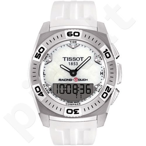 Tissot Racing-Touch T002.520.17.111.00 vyriškas laikrodis-chronometras