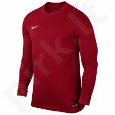 Marškinėliai futbolui Nike Park VI LS M 725884-657