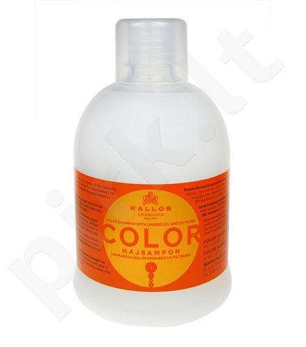 Kallos Color šampūnas, 1000ml, kosmetika moterims