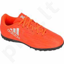 Futbolo bateliai Adidas  X16.4 TF Jr S75710