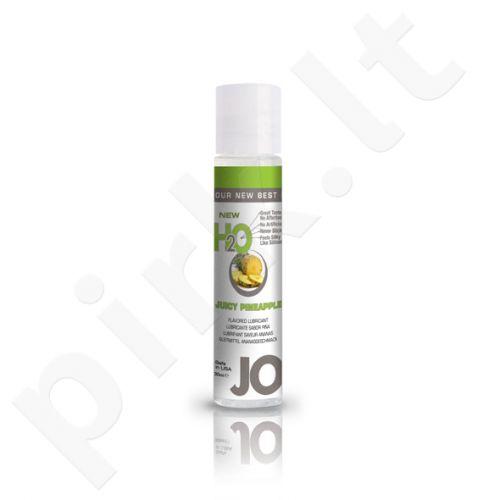 System JO - H2O lubrikantas Sultingas ananasas 30 ml