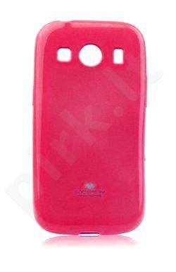 Samsung Galaxy Ace 4 dėklas JELLY Mercury hot rožinis