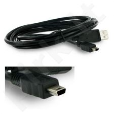4World Kabelis USB 2.0 mini 5 pin 1.8m AM-BM5P Canon stilius