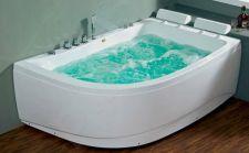 Masažinė vonia B1913-1 dešininė su hidromasažu