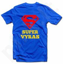 """Marškinėliai """"SUPER VYRAS"""""""