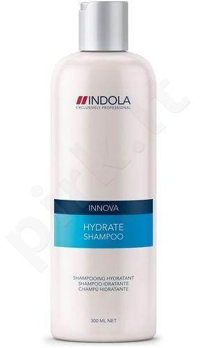 Indola Innova Hydrate šampūnas, 300ml, kosmetika moterims