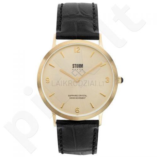 Vyriškas laikrodis Storm Black Sigma Gold