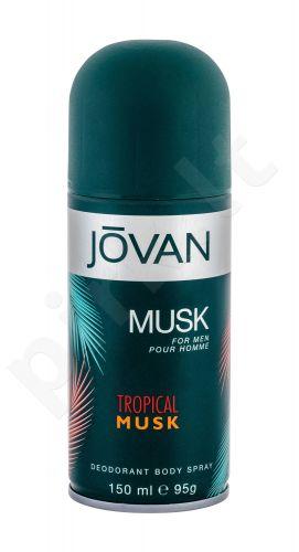 Jovan Tropical Musk, dezodorantas vyrams, 150ml