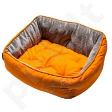 Rogz Guolis Luna Small Orange Paw 48x35x13.5cm