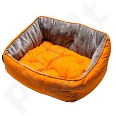 Rogz Guolis Luna Small Orange Paw 48x35x13.5cm