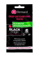 Dermacol Black Magic, veido kaukė moterims, 1pc
