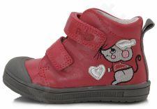 D.D. step raudoni batai 22-27 d. da031379a