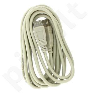 4World  Prailginantis kabelis lUSB 2.0 tipas A-A M/F 1.8m