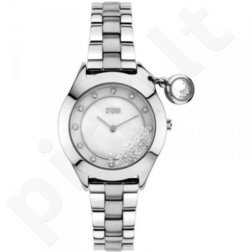 Moteriškas laikrodis STORM SPARKELLI SILVER