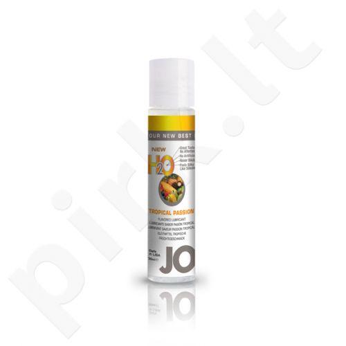 System JO - H2O lubrikantas Tropinių vaisių aistra 30 ml