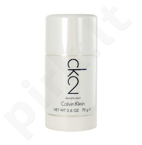 Calvin Klein CK2, pieštukinis dezodorantas moterims ir vyrams, 75ml