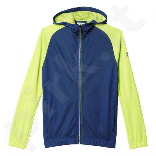 Bliuzonas  Adidas Locker Room Quarter Theme Full Zip Hoodie Junior AJ5607