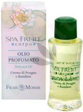 Frais Monde Spa Fruit Plum And Bamboo Perfumed Oil, parfumuotas aliejus moterims, 10ml