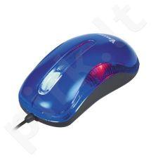 Optinė pelė Vakoss USB TM-420 UB 1200dpi Mėlyna