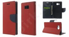 Samsung Galaxy Alpha dėklas FANCY Mercury raudonas/mėlynas