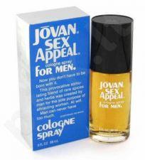 Jovan Sex Appeal, odekolonas (EDC) vyrams, 88 ml
