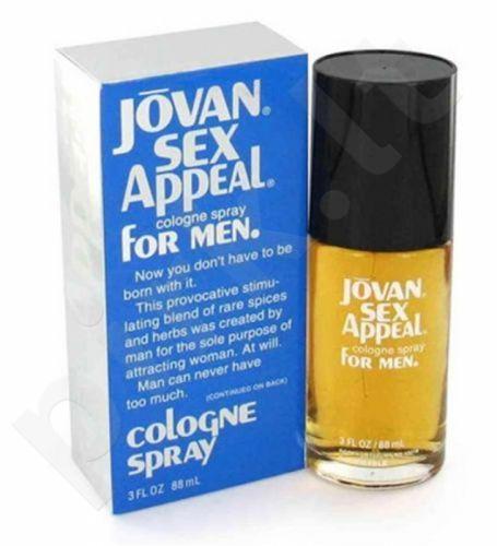 Jovan Sex Appeal, Eau de odekolonas vyrams, 88ml