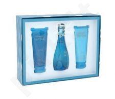 Davidoff Cool Water rinkinys moterims, (EDT 100ml + 75ml kūno losjonas + 75ml dušo želė)