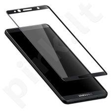 Tempered glass screen protector Samsung Galaxy S8 [3D, black]