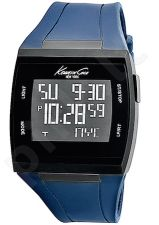 Laikrodis KENNETH COLE - DIGITAL TOUCHSCREEN chronografas vyriškas BLACK STRAP BLUE