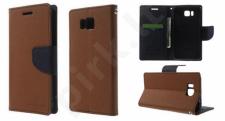 Samsung Galaxy Alpha dėklas FANCY Mercury rudas/juodas
