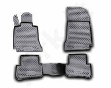 Guminiai kilimėliai 3D MERCEDES-BENZ C-Class W204 2007-2014, 4 pcs. /L46039