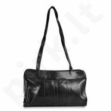 DAN-A T18 juoda rankinė iš natūralios odos , moteriška
