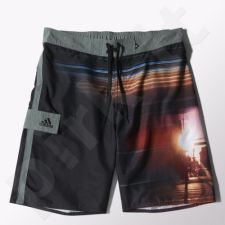 Maudymosi šortai Adidas City Short Long Length M S17812