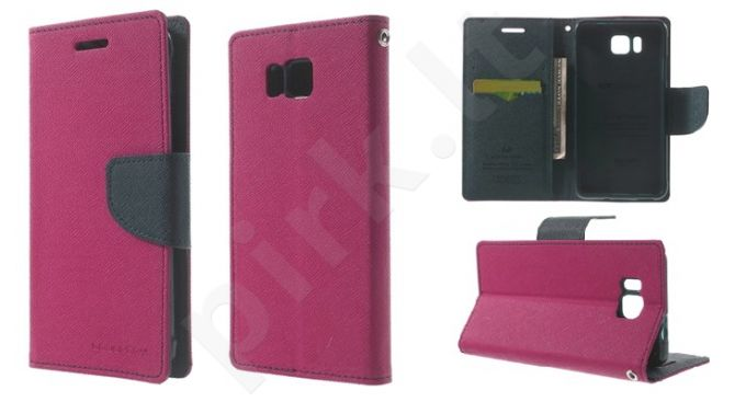Samsung Galaxy Alpha dėklas FANCY Mercury hot rožinis/mėlynas