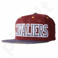 Kepurė  su snapeliu Adidas Cleveland Cavaliers Flat Cap AY6130
