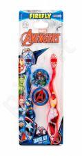 Marvel Avengers Toothbrush, rinkinys dantų šepetėlis vaikams, (Toothbrush 2 pcs + Case 2 pcs)