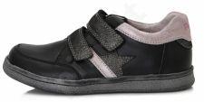 D.D. step juodi batai 28-33 d. da061657c