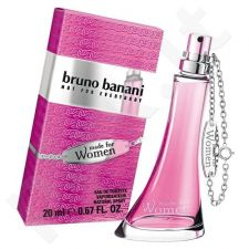 Bruno Banani Made for Woman, tualetinis vanduo (EDT) moterims, 20 ml