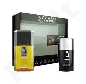 Azzaro Pour Homme rinkinys vyrams, (EDT 100ml + 75ml pieštukinis dezodorantas)