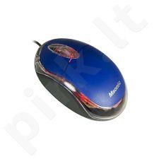 Optinė pelė MSONIC USB 1200dpi Mėlyna