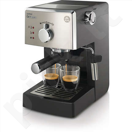 PHILIPS HD8425/19 Saeco Poemia Manual Espresso machine, 15 bar, Milk Frother, Cup warmer, Black