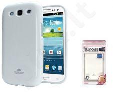 Samsung Galaxy S3 dėklas JELLY Mercury baltas