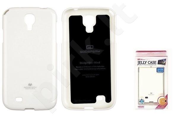 Samsung Galaxy S4 dėklas JELLY Mercury baltas