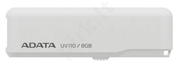 Adata memory USB 8GB Dash Drive UV110 USB2.0  White,