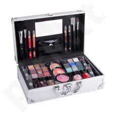 2K Fabulous Beauty Train Case, rinkinys makiažo paletė moterims, (Complete makiažo paletė)
