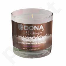 Masažinė žvakė DONA (šokoladas)