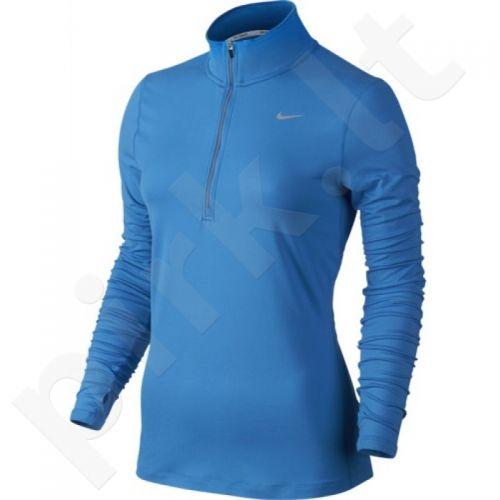 Marškinėliai bėgimui  NIKE ELEMENT HALF-ZIP W 685910-435
